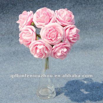 Artificial making foam rose flower craftartificial foam flower for artificial making foam rose flower craftartificial foam flower for wedding decoration mightylinksfo
