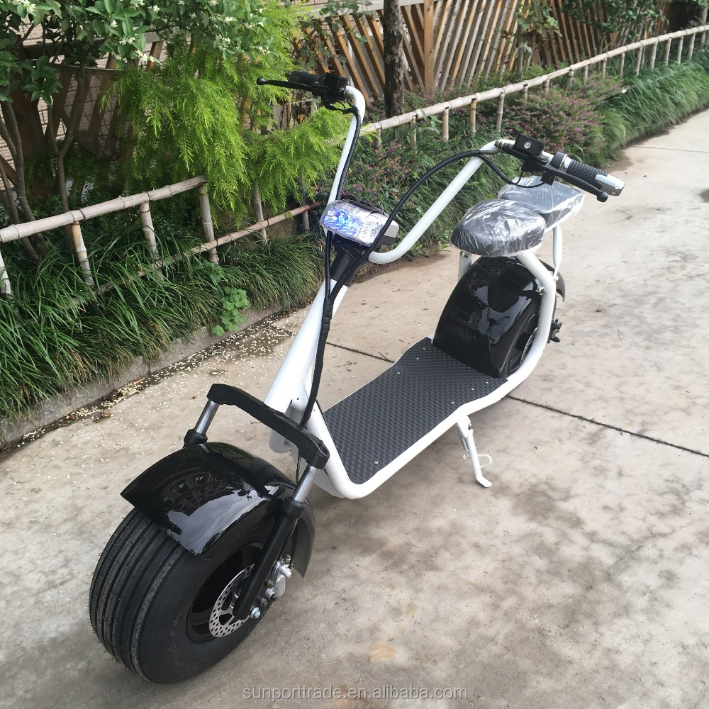 Sunport Two Seat Harley Electric Scooter Motor City CoCo for adults