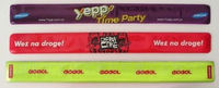 Supply PVC reflective wrist band/were applauded (figure)/times