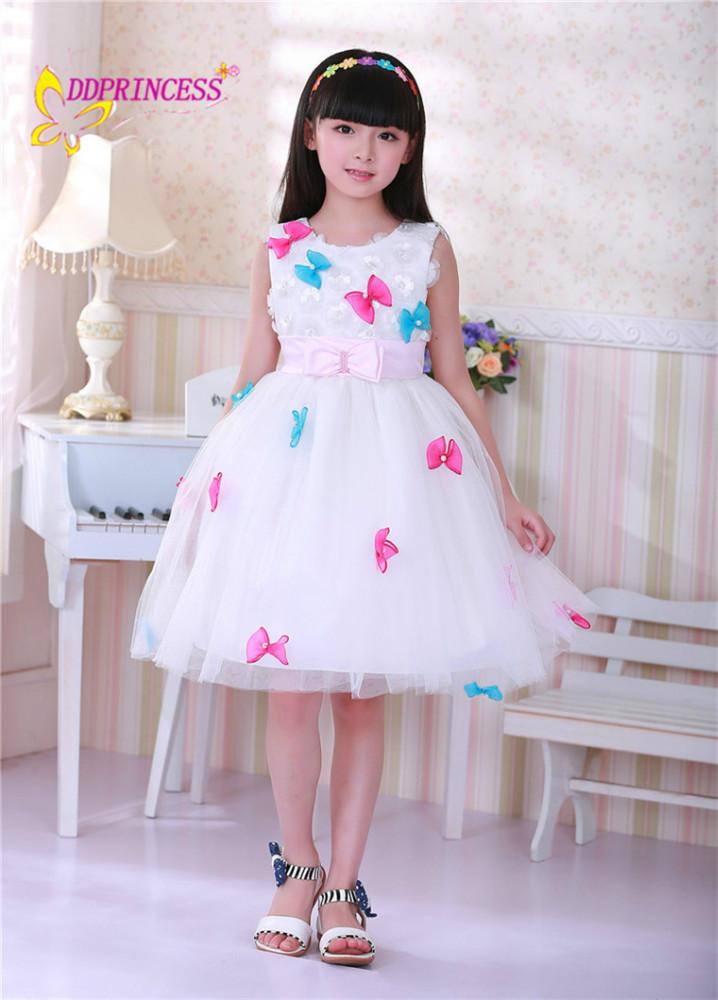 großhandel gute Sommer schmetterling design kleid kinder kleid mode ...