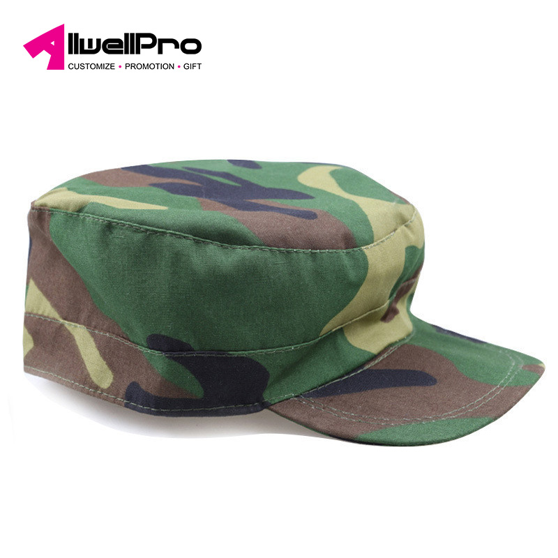fashion unisex camouflage military cap for students training outdoor worked as sunshade