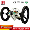 New 2.4G bouncing rc car Jumping toy car robot