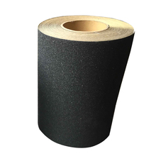 Skateboard Griff Band <span class=keywords><strong>Rolle</strong></span> (9 zoll x 60 fuß), Schwarz Pro typ Griptape für Skate boards Longboards