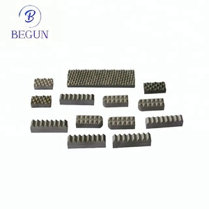 Best selling products HIP sintered tungsten carbide sliver grey YG6/YG8 gripper jaw inserts