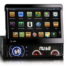 "OEM A9 auto radio Quad core Pure Android H24*600 16GB Mirror-Link 7"" one Din Universal Car DVD Player GPS navigation"