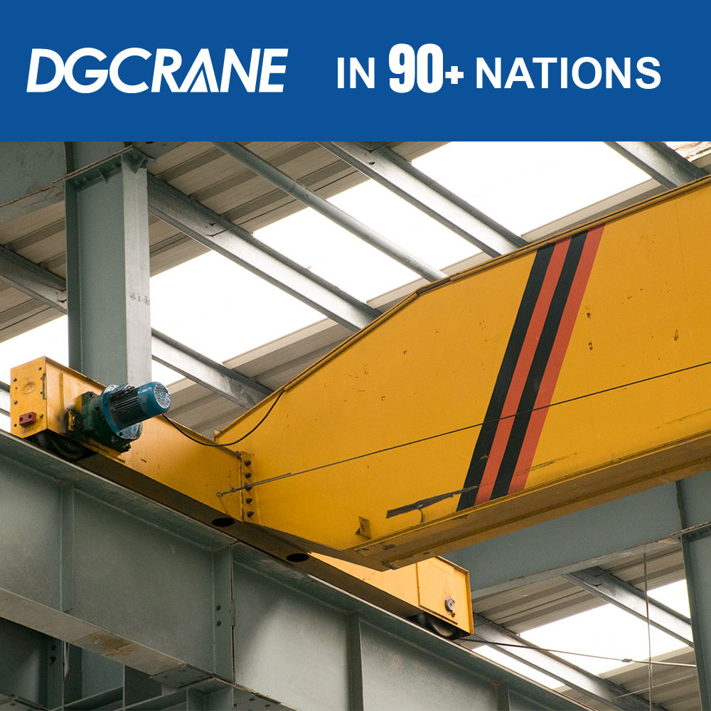 motor driven single beam crane, suspend crane