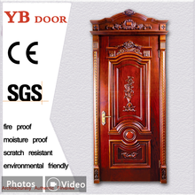 Online shop china manufacture new design interior solid wooden doors