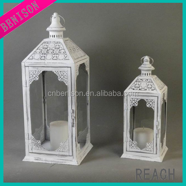 hanging silver votive glass candle holder with metal stand