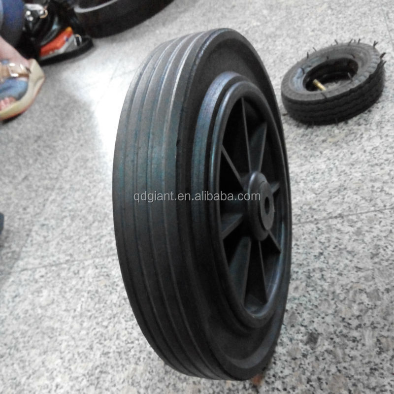 11x2 inch solid rubber wheel