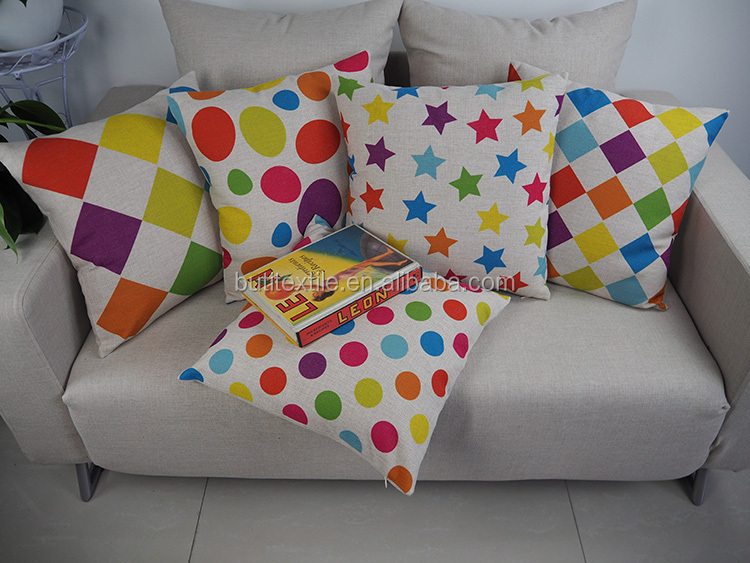 24*24 pillow cover latest design cushion cover throw replacement cushion