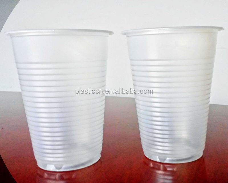 200ml clear plastic disposable drinking cup/ 200cc plastic drink cup bubble tea drinking straws