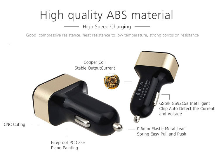 High Quality Manufactory 5v 2a Usb Car Charger Wiring