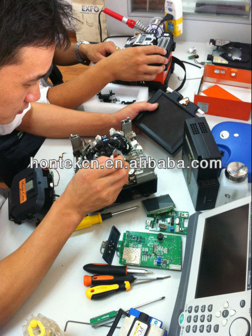 Repair / Maintenance / calibration for fiber optic fusion splicer, OTDR, site master telecom tester