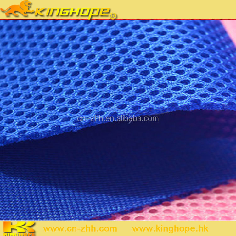 3D Spacer 100% polyester air mesh fabric