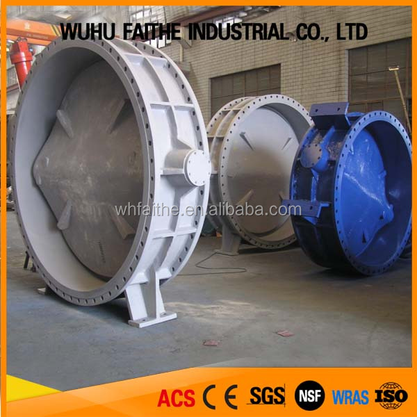 China Suppliers High Pressure Butterfly Valve Drawing Dn1000