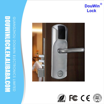 Wood Keyless Italian Door Lock Use For Star Hotel