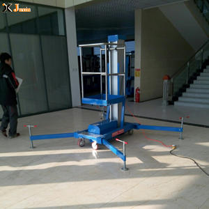 4-10m top quality portable lifting height hydraulic mobile aluminum alloy lightweight indoor lifting equipment for sale