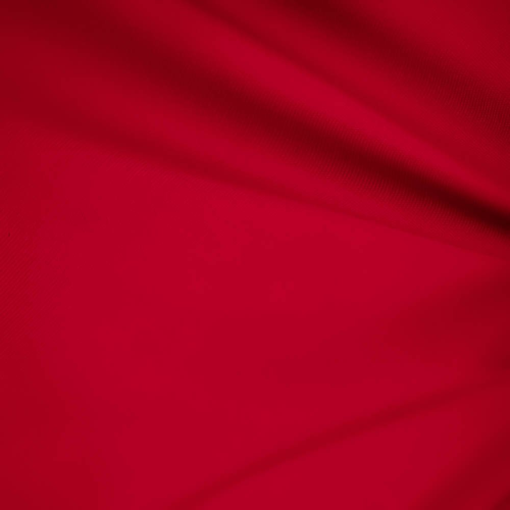"Red 60"" Wide Premium Cotton Blend Broadcloth Fabric By the Yard by Fabric Bravo"