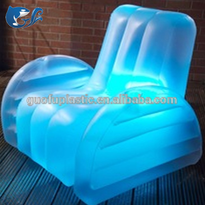 Inflatable LED Water armchair Sofa