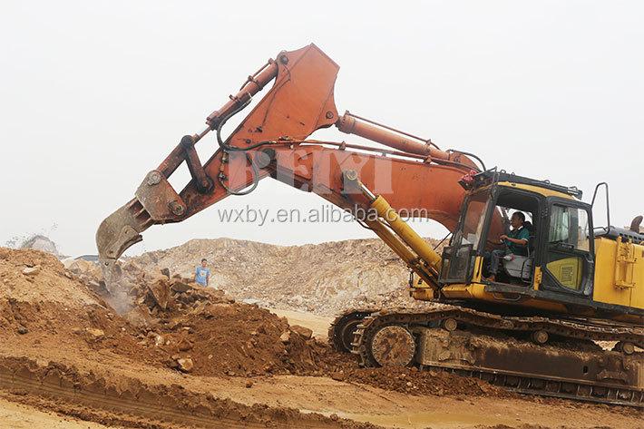 Excavator parts breaker machine ripper