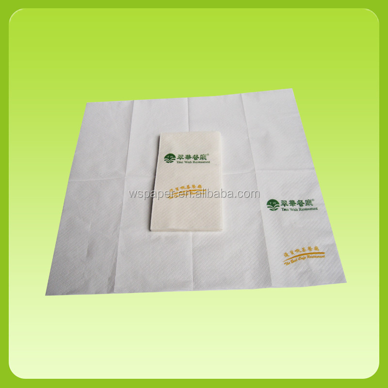 Hot sale 1/4 1/6 1/8 napkin sanitary paper white factory price 100% virgin wood pulp