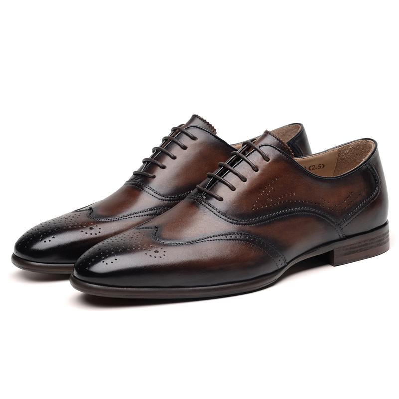 Leather Dress Italian Shoes Shoes New Smart Office Wedding Men Formal 8qdwaI8