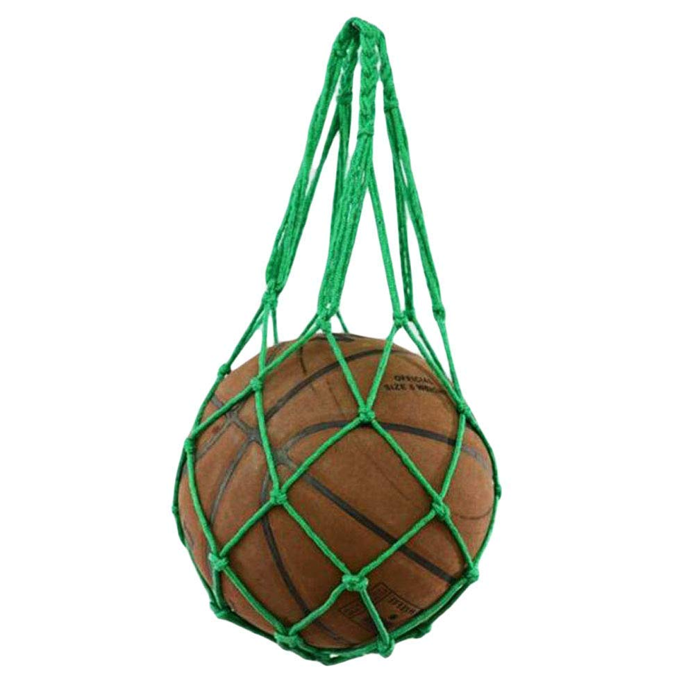 Get Quotations · George Jimmy Green Basketball Grid Net Bag Fashion  Volleyball Mesh Bag Storage a84219d274
