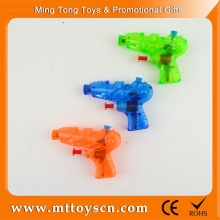 9cm transparent safe material summer revolver water gun