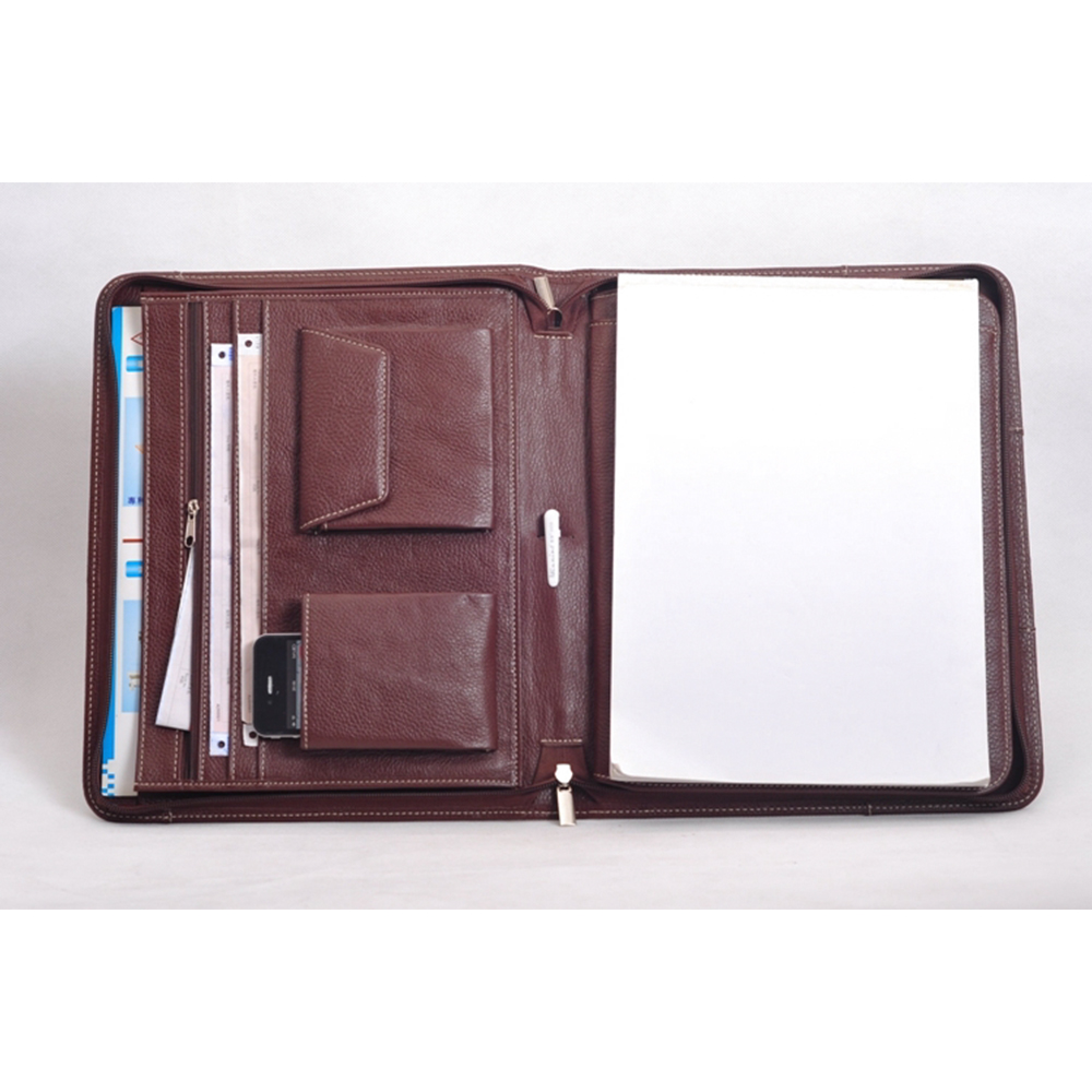 Brand new coffee businessmen portfolios large capacity travel portfolios expanding wallets folders university students gifts