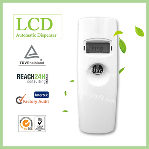 LCD Time Display Automatic Air Freshener Aerosol Dispenser