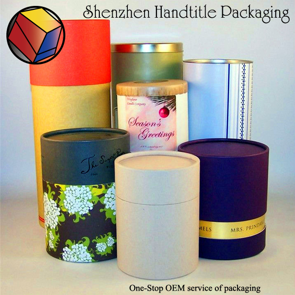 custom high quality Recycled low price packaging paper tube for packaging