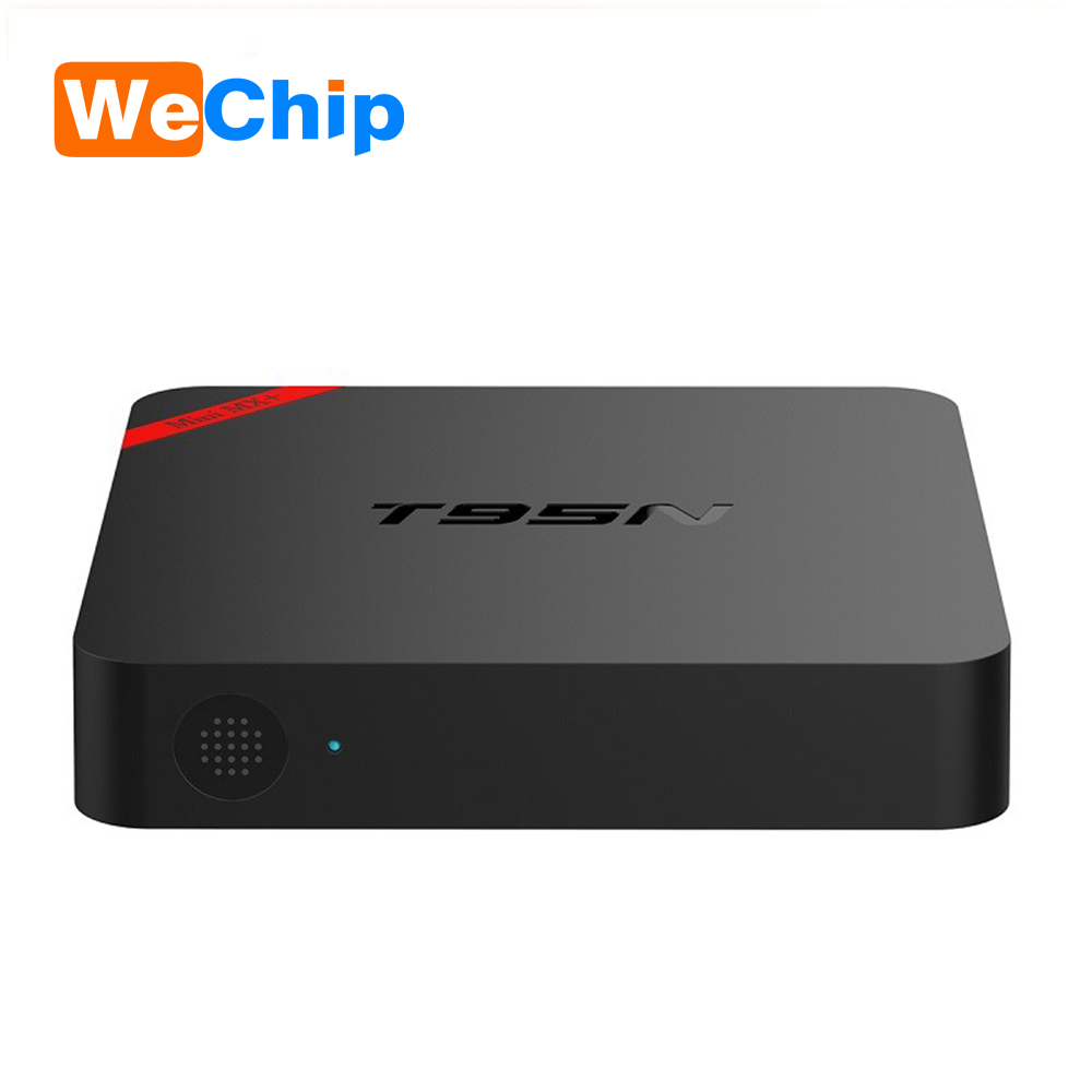New arrival smart tv box metal case T95N S905 ott ir remote control android tv box Set top box