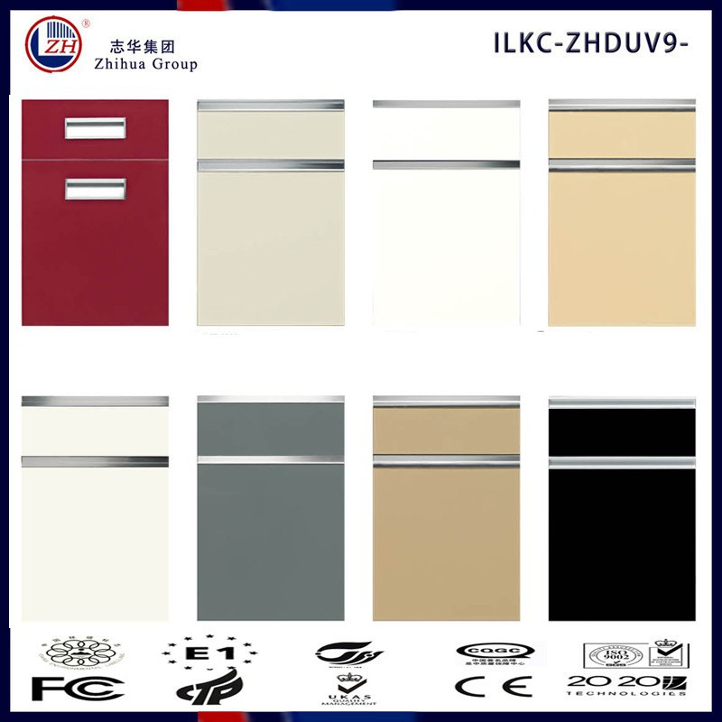 Mdf High Gloss Colorful Acrylic Kitchen Cabinet Door