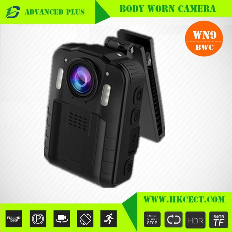 ADVANCED PLUS 1080P Pinhole IR Camera Body Worn Video Camer