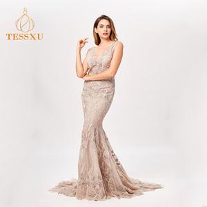 Fashion Mermaid Evening Gown 81c861106cef
