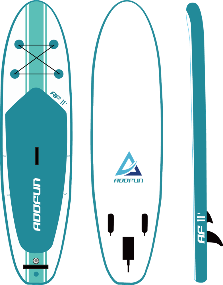 ขายร้อน 11 'รอบ Inflatable Stand Up Paddle Board