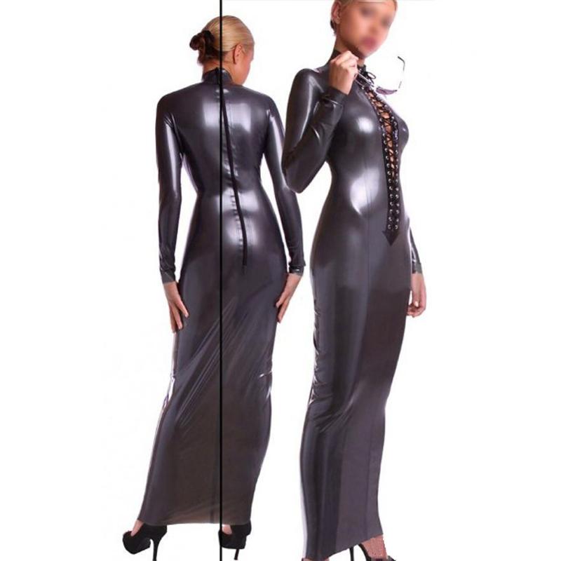 Hot Sale Women Latex Dresses Dresses