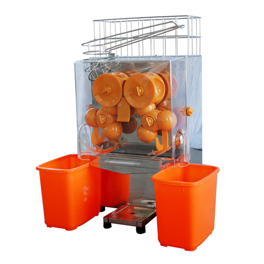 easy maintenance vegetable and fruit juicer for snack food store