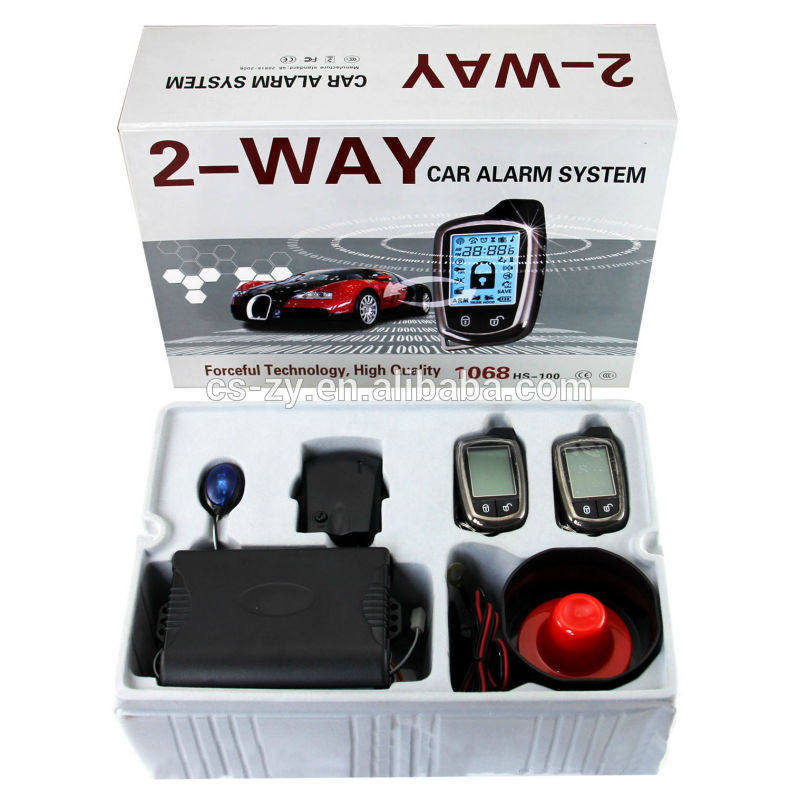 Car Alarm Security System Distributor In China Two Way For Carscop ...