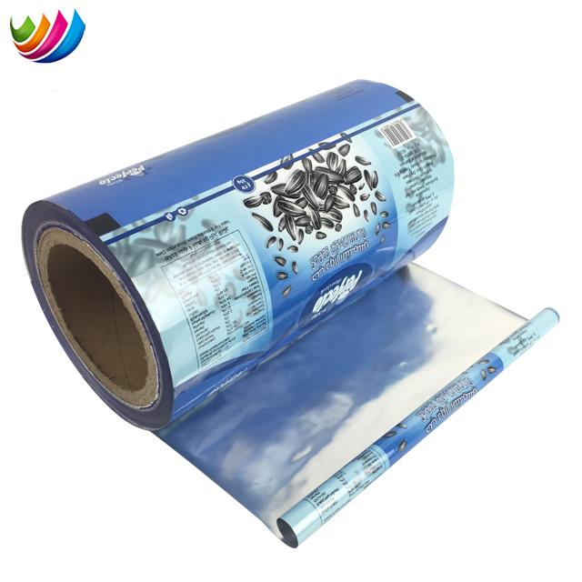 Рекламные гибкие пищевая упаковка пластиковый пленка в рулоне