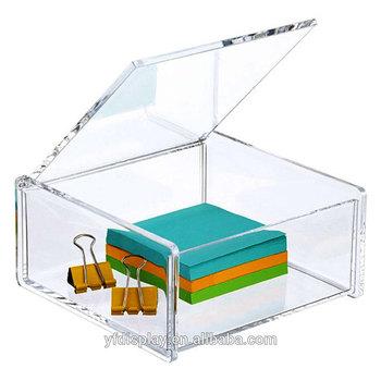 Custom Clear Acrylic Box With Hinged Lid Buy Acrylic Box Product