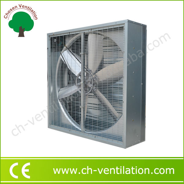 High speed electric wall duct exhaust fan