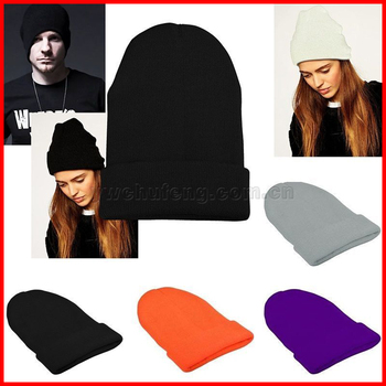 0962503adbe Slouchy Beanie Winter Warm Knit Ski Skater Hip-hop Hat Men s Women s Unisex