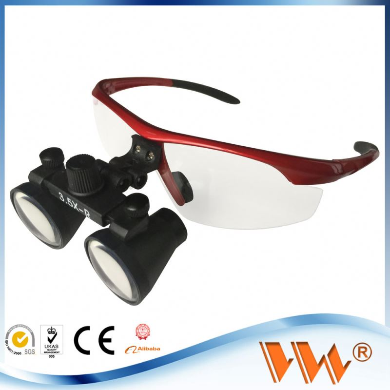 medical use dental loupes flip up accessories