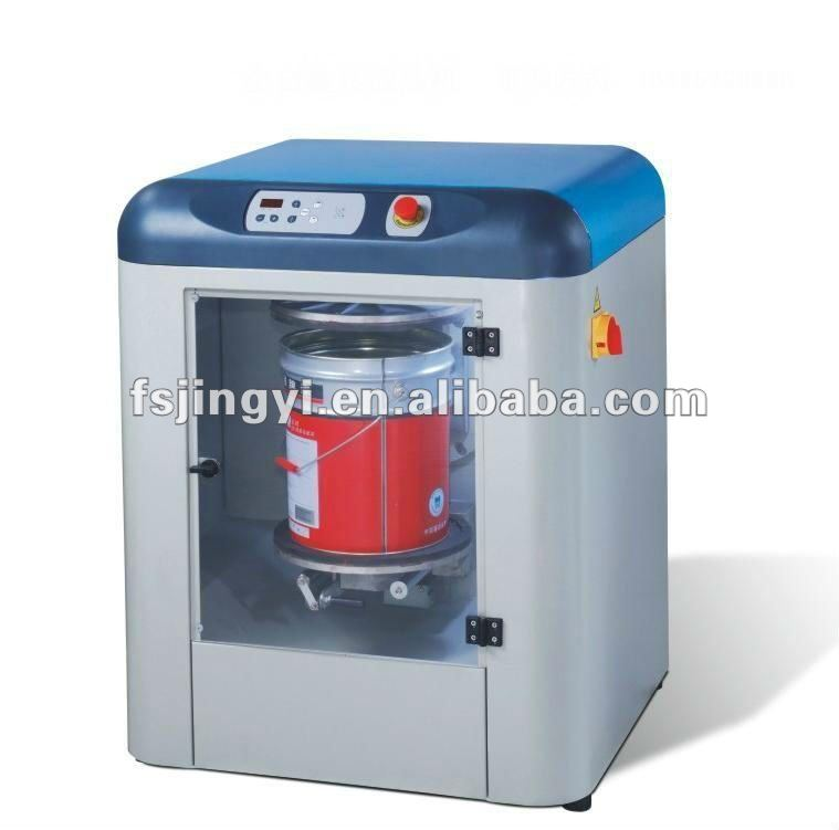 automatic rotating drum powder/paint/ink mixer