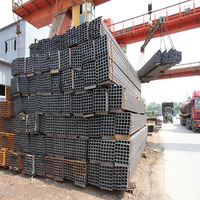 pipe in china manufacturer mascot special hot dipped galvanized welded rectangular square steel pipe/tube with high quality
