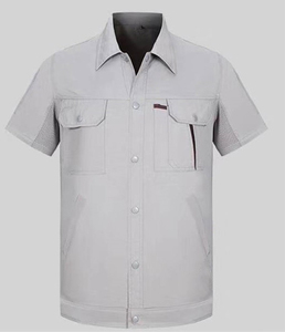 Grey Pure Cotton Working Uniforms