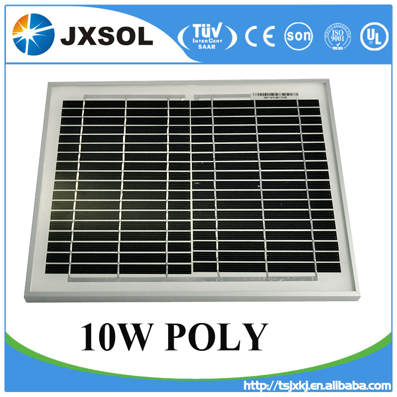 Import solar panel rooftop PV panels poly mono 10 watt for home solar system