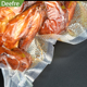 Hot sale embossed vacuum food saver storage bags