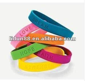 2012 fashion rubber band for super men